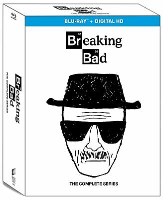 Breaking Bad: The Complete Series - Blu Ray Box Set New Free Shipping