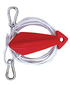 airhead demon boat tow harness water ski rope bridle 8 39 cable pulley red white ebay. Black Bedroom Furniture Sets. Home Design Ideas