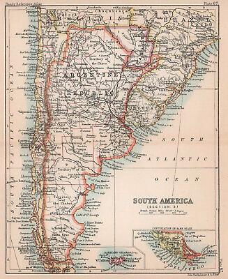 Patagonia Cartina Geografica.Pre 1900 Map Patagonia Vatican