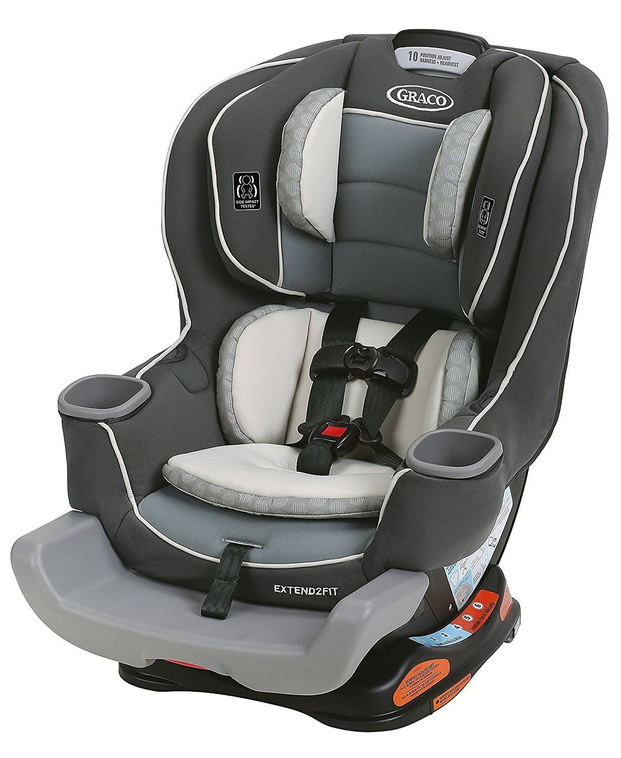 Купить Graco Extend2Fit - Graco Baby Extend2Fit Convertible Car Seat Infant Child Safety Davis NEW