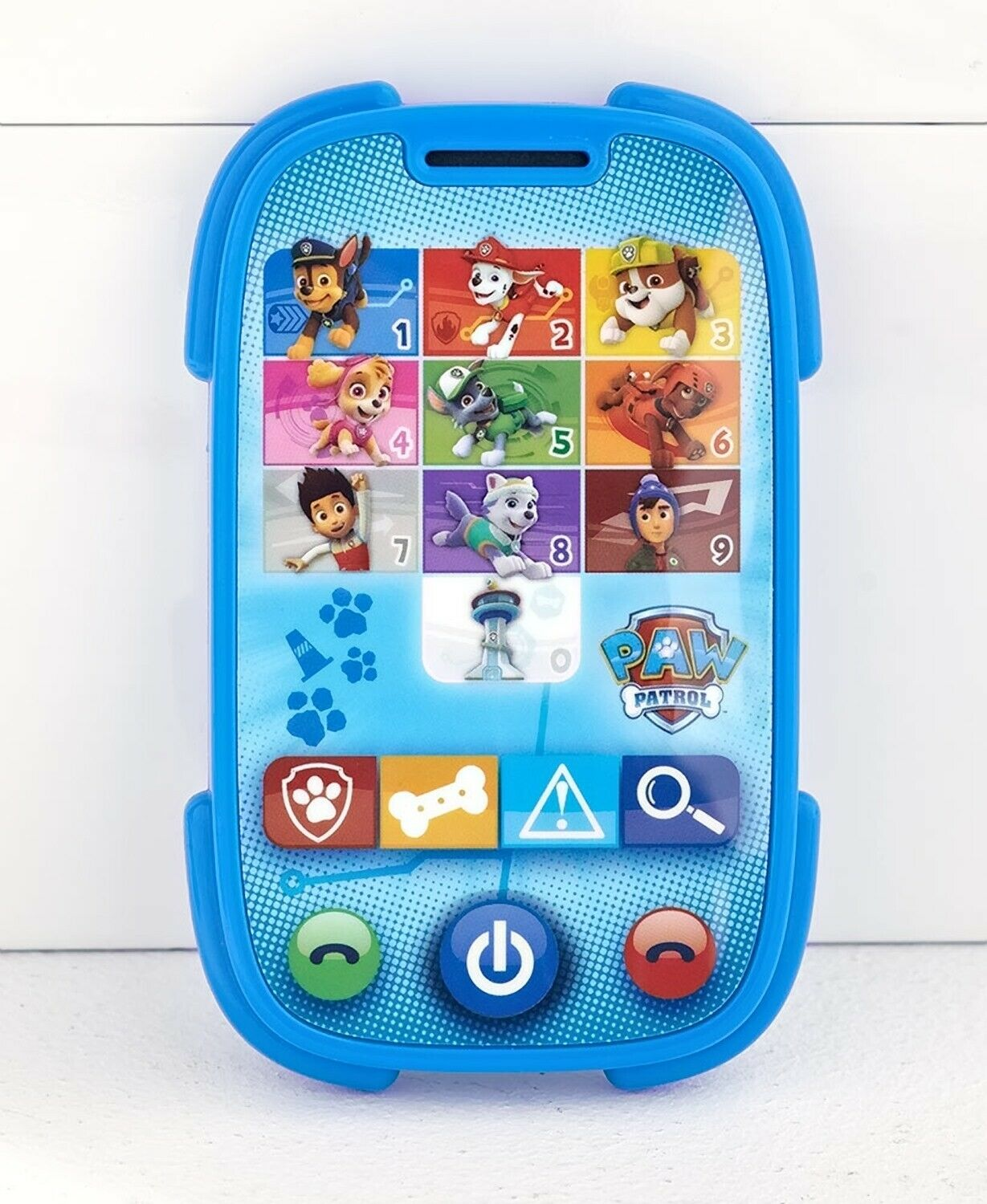 paw patrol fun and learn toy smartphone