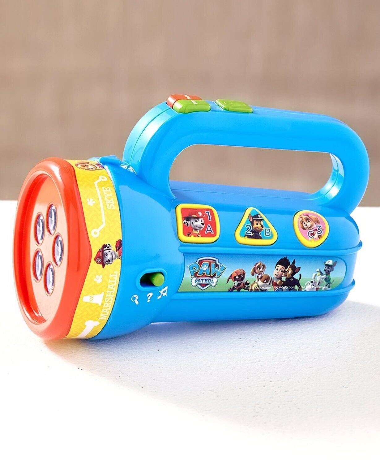 paw patrol fun and learn toy learning