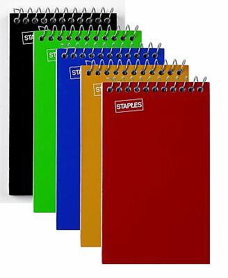 Staples Memo Pads 3 X 5 College Assorted 75 Sheetspad 5 Padspack 11491
