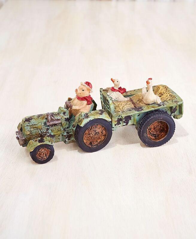 Tractor Animal Figurine - Pig