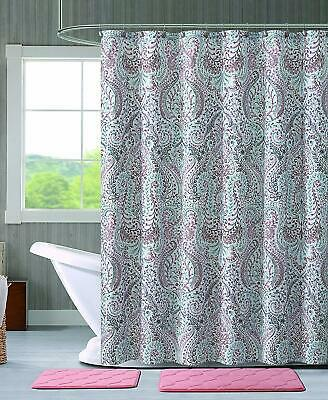 paisley shower curtain for sale  Topsfield