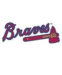 Atlanta Braves MLB Baseball Digital Desk Clock Man Cave Office Den Home Decor