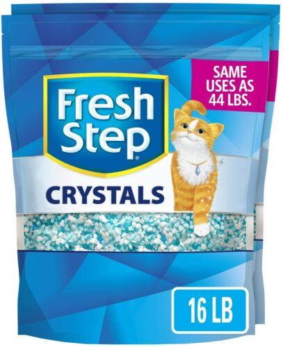 Fresh Step Crystals, Premium Cat Litter, Scented, 16lb