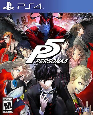 Persona 5 for PS4 or Playstation 4 Pro Console Brand New Ships Fast Worldwide !!