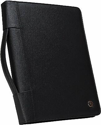 Case-it Executive Zippered Padfolio with Removable 3-Ring Binder and Letter Size