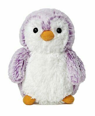 Aurora World PomPom Penguin Bright Violet Purple Plush Small
