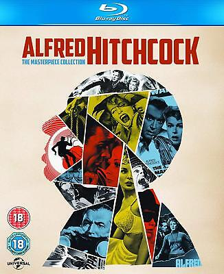 Alfred Hitchcock The Masterpiece Collection 14 Movies BLU-RAY New Region FREE
