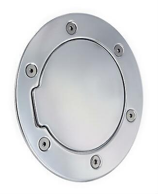 All Sales Non-Locking Gas Filler Door-Polished, for Dodge Ram Trucks; 6041P