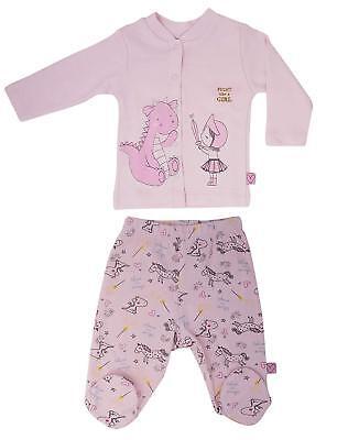 Luggi Baby Girl Warm Long-Sleeve Footie Pajamas Sleeper Rompers