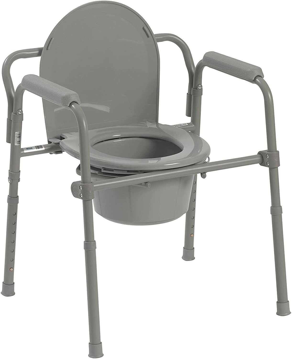 Lightweight Folding Commode Chair Potty Chair Portable toile