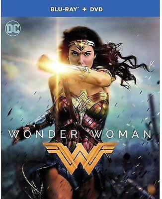 Wonder Woman 2017   Brand New Sealed  Blu Ray Dvd    Free Fast Shipping