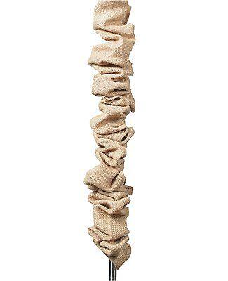 urbanest chandelier chain cord cover natural burlap ebay. Black Bedroom Furniture Sets. Home Design Ideas