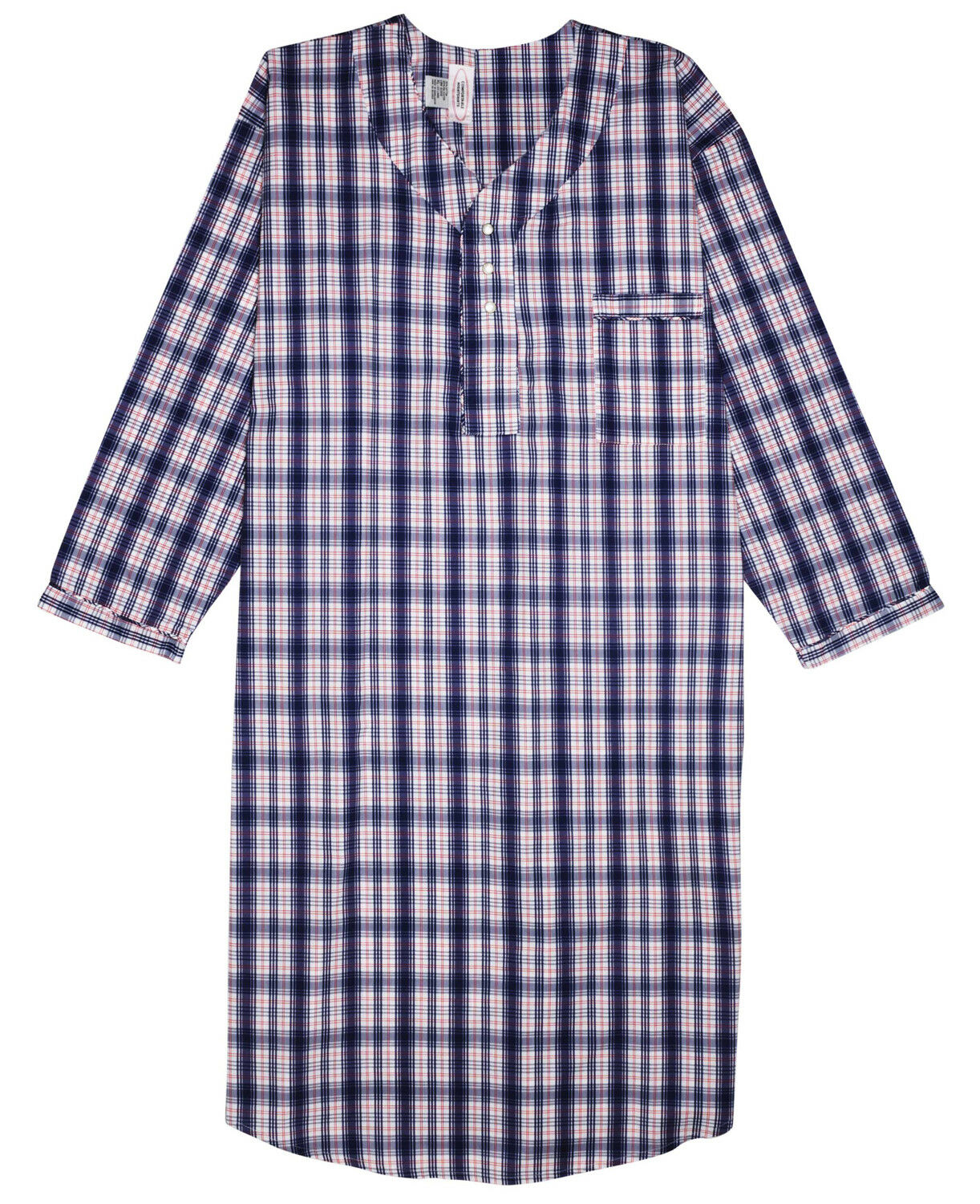 Купить Comfortable Night Shirt - New Men's Comfortable Nightshirt Gown Long Sleeve Size M-L-XL-2XL-3XL