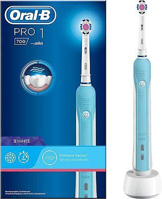 Cepillo de Dientes Oral-B Electrico Azul 20.000 Pulsaciones por minuto