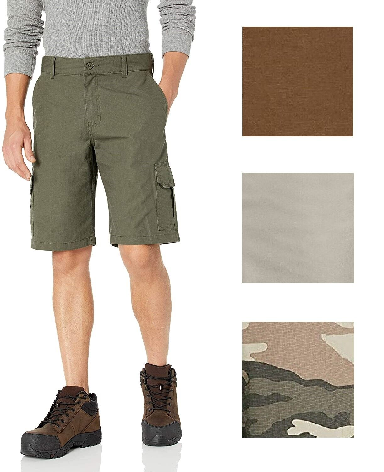 Dickies Men's Relaxed Fit 11 Inch Lightweight Ripstop Cargo
