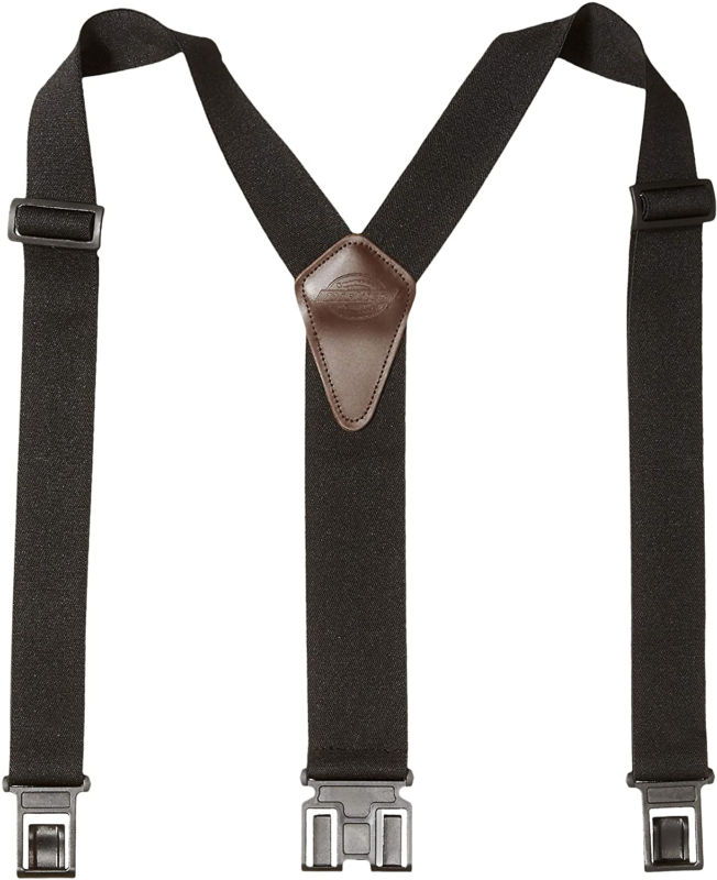 Heavy Duty Clip Suspenders Y Back Straps With Clips Work Pan