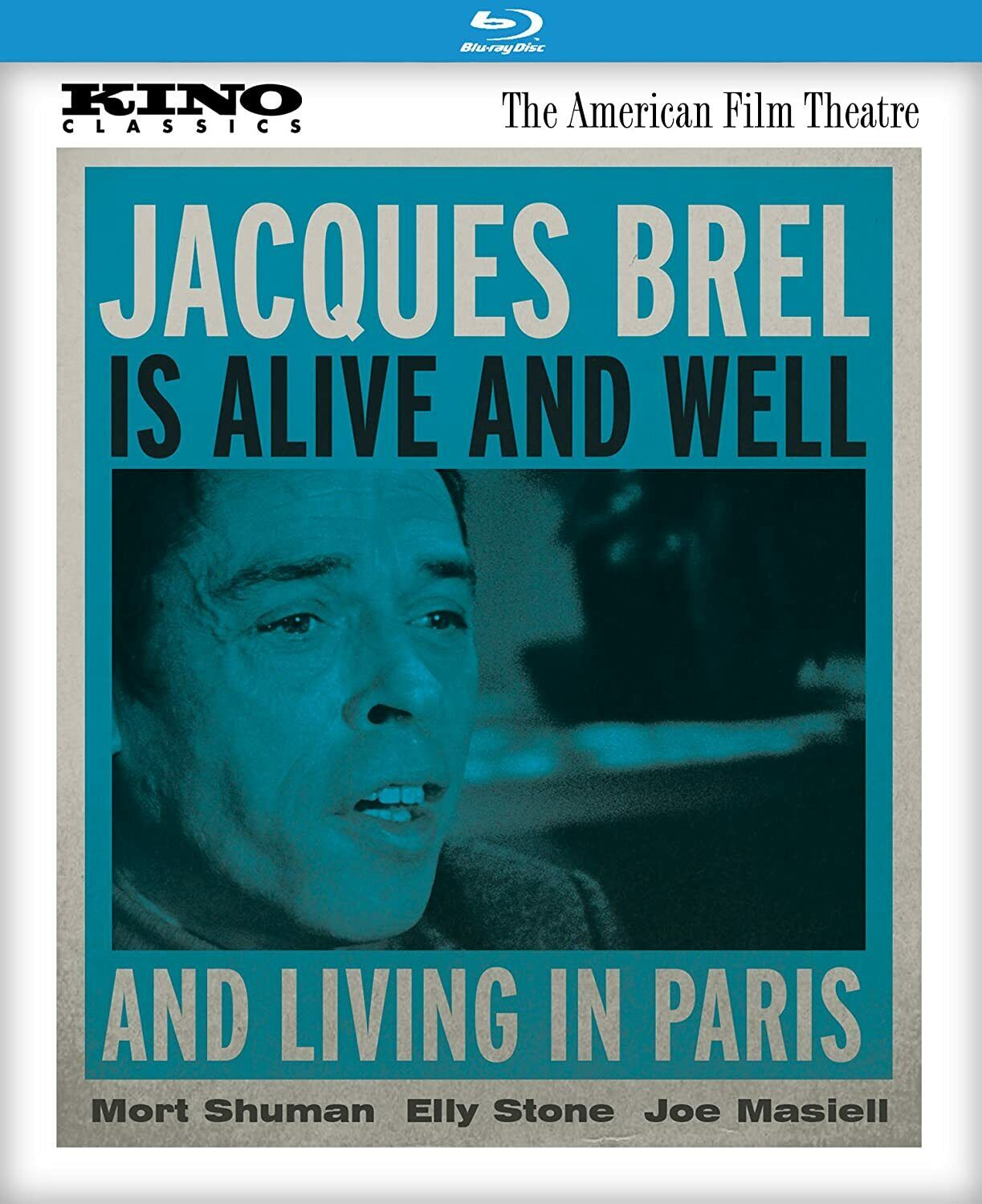 JACQUES BREL IS ALIVE AND WELL AND LIVING IN PARIS KL Blu-ray - $19.17