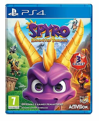 Spyro Trilogy Reignited (PS4) Out 13th November New & Sealed UK PAL