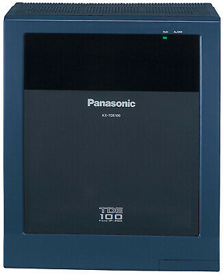 Panasonic Kx-tde100 Ip Pbx Cabinet Without Ipcmpr Card And Without Power Supply