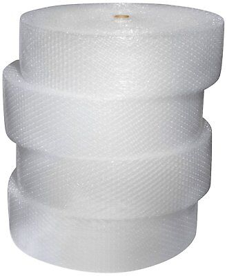 1000ft 12 Large Bubble Cushioning Material Wrap 12x250ft4 Rolls Free Shipping