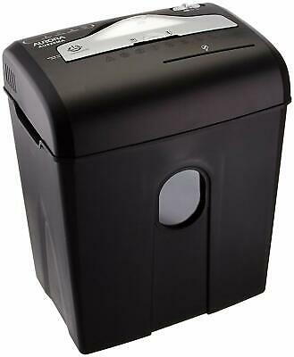Micro Cut Paper Shredder Shreds 8 Sheets And Credit Card Document Disposal Desk