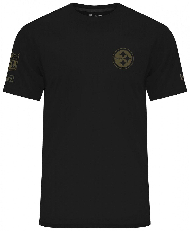 New Era - NFL Pittsburgh Steelers Camo Collection 2018 T-Shirt - Schwarz