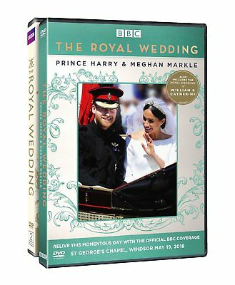 Royal Wedding Of Prince Harry And Meghan Markle   New Dvd