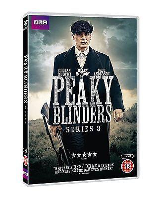 PEAKY BLINDERS series/season 3 region 2 DVD box set new Fast Dispatch