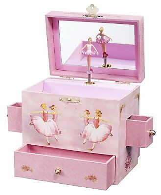 Music Treasure Box - Ballerina Treasure Music Box by Enchantmints