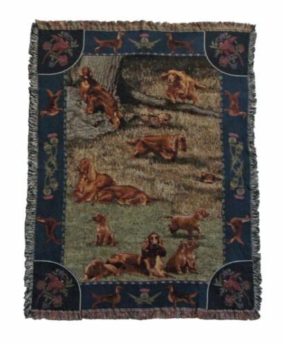Irish Setter Throw/blanket