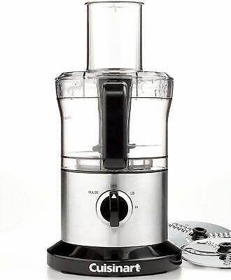 Cuisinart 8 Cup Food Processor, Stainless Dirk, Mixer Grinder Chopper DLC-6