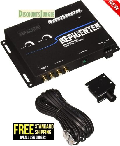 Audio Control Epicenter Digital Bass Restoration Processor Enhancer Black EPICB