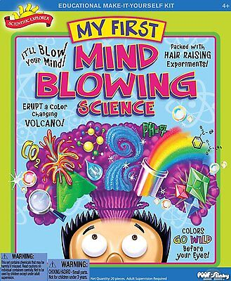 Poof Slinky   Scientific Explorer My First Mind Blowing Science Kit  11 Activiti
