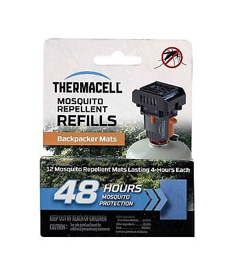 Thermacell M 48 48 Hours Backpacker Mosquito Repellent Mats For Mr Bp Repeller