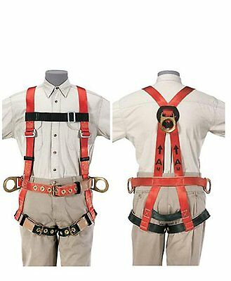 Klein Tools 87092 Premium Fall-arrestretrieval Harness For Tower Work X-large