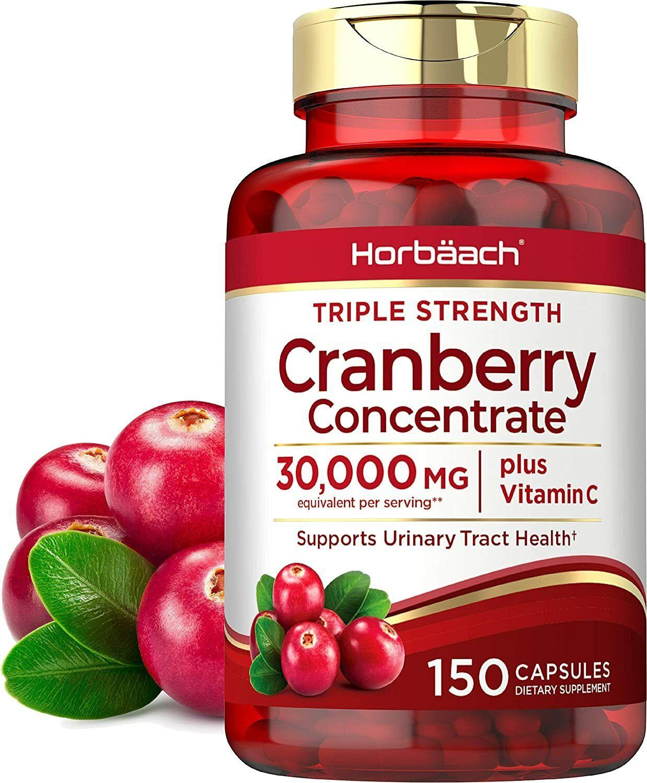 Pastillas De Cranberry Para Los Riñones Con Vitamina C Natural