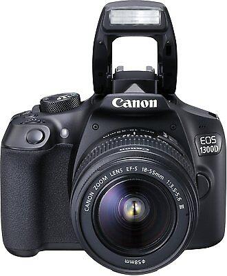 Canon EOS 1300D - EF-S 18-55mm DCIII Spiegelreflexkamera NEU OVP