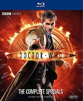 Doctor Who: The Complete Specials (Blu-ray Disc, 2010, 5-Disc Set)