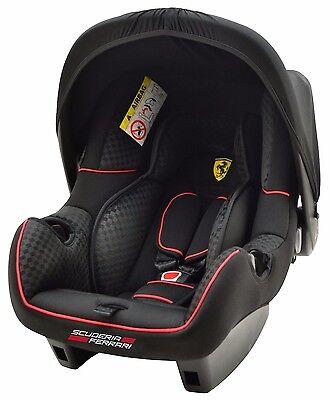Ferrari Babyschale und Wippe BeOne GT Sitz Baby Kindersitz Autositz GRUPPE 0+/