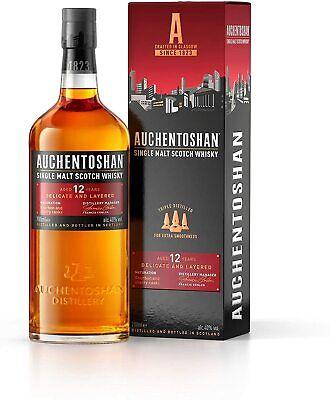 Auchentoshan 12 Jahre Lowlands Single Malt Scotch Whisky 0,7l, alc. 40 Vol.-%