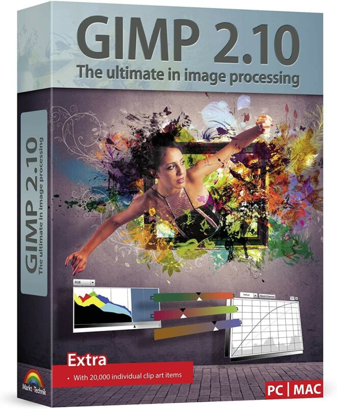 PRO Photo Graphic Design Image Editing Software GIMP PhotoShop Replacement