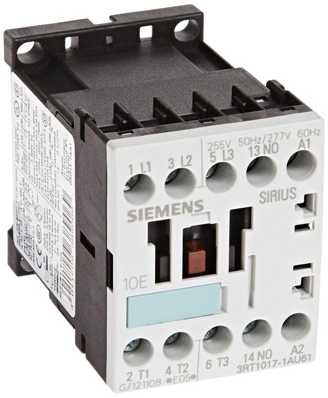 Siemens 3RT10 17-1AU61 Motor Contactor 3 Poles Screw Terminals S00