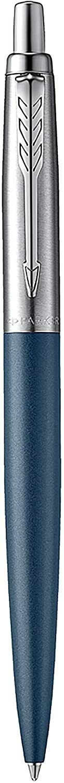 Parker Jotter XL Matte Blue w/ Stainless Steel Ballpoint Pen, Blister Pack Ballpoint Pens