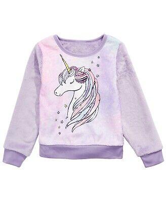 Evy of California Little Girls Unicorn Sweatshirt Size 6X