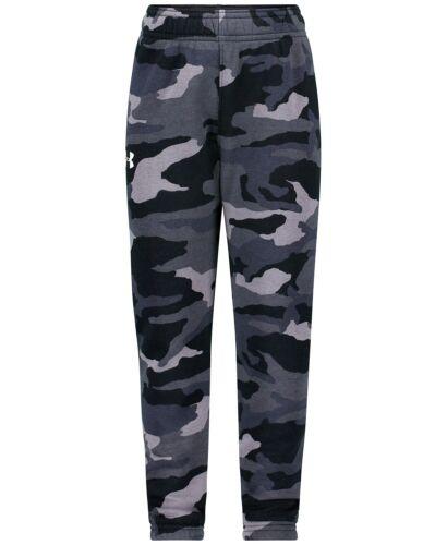 Under Armour Little Boys Bandit Camo-Print Jogger Pants - Black/Gray - 7