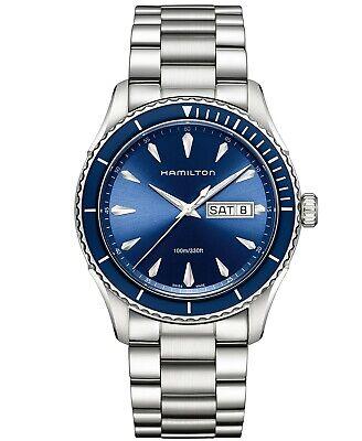 Hamilton Jazzmaster Seaview Blue Dial Stainless Steel Men's Watch H37551141